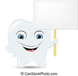 Tooth Icon With Announcement