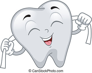 Tooth Mascot - Mascot Illustration Featuring a Tooth...
