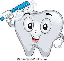 Tooth Mascot - Mascot Illustration Featuring a Tooth ...