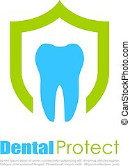 Tooth vector logo