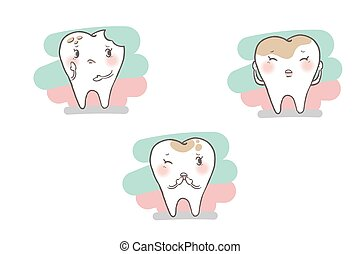 tooth with decay problem