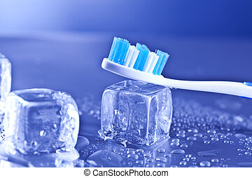 toothbrush and dental care