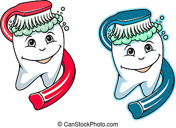 Toothbrush and dental paste for hygiene and healthcare...