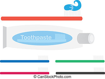 Toothbrush and Toothpaste - Various Toothbrushes and...