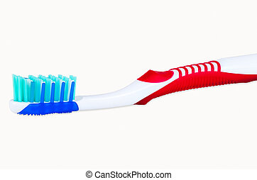 Toothbrush isolated on white background