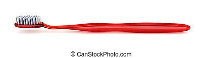 toothbrush vermelho