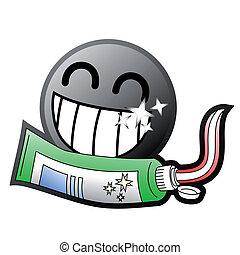 toothpaste, ikona