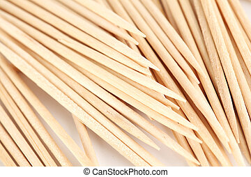 toothpick macro close up