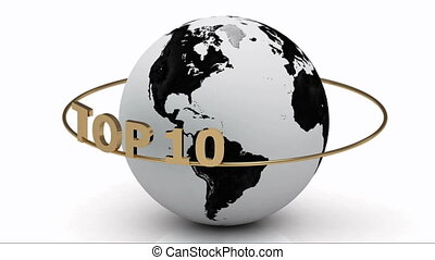 TOP 10 around the earth