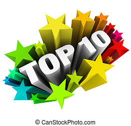 Top 10 Ten Stars Celebrate Best Review Rating Award - Top 10...
