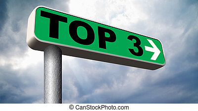top 3 charts - top 3 chart pop poll results ranking of quiz...