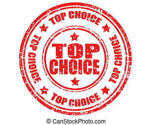 Top choice-stamp