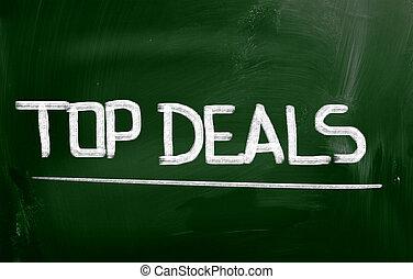 Top Deals Concept