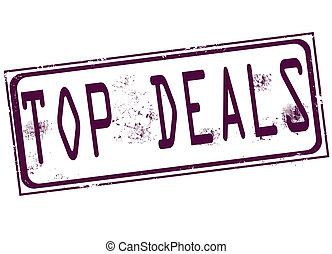 top deals, stamp