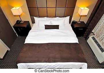 Top down of big bedroom