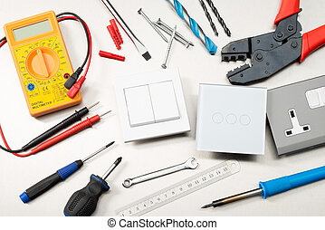 Top electrical tools - Various electrician tools and ...
