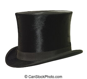 Top Hat isolated on white background