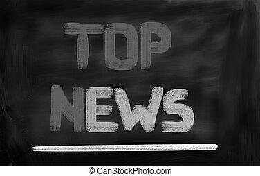 Top News Concept