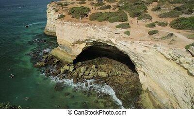 top of Benagil Cave