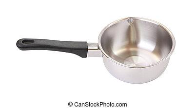 Top of black handle pot