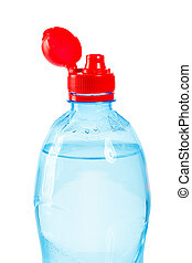 top of bottle with water