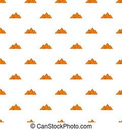 Top of mountain pattern seamless