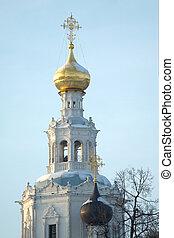 Top of Russian church