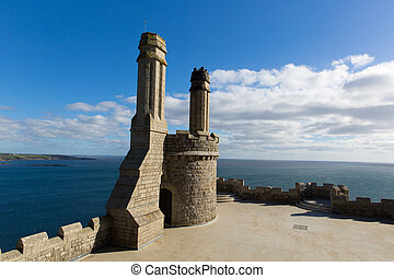 Top of St Michael's Mount castle