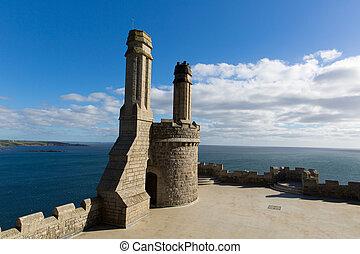 Top of St Michael's Mount castle