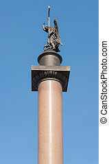 top of the Alexander Column