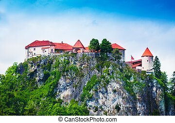 Top of the Bled castle