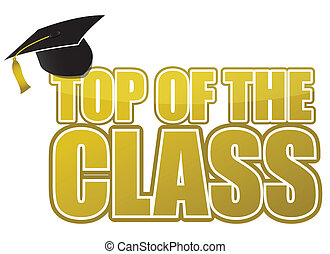 top of the class graduation
