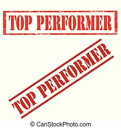 Top Performer-stamps