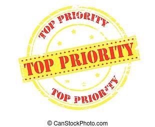 Top priority