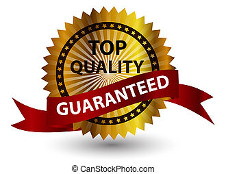 Top quality label. Vector illustration sign.