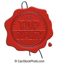 Top Quality red wax seal