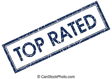 top rated blue square stamp