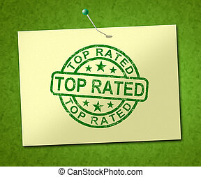 Top rated stamp means excellent foremost product - 3d ...