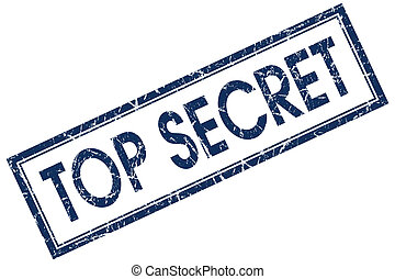 top secret blue stamp