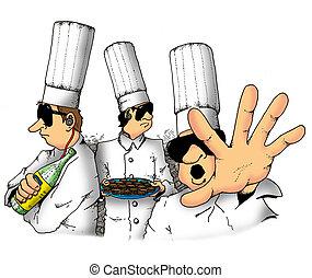 top secret, chefs