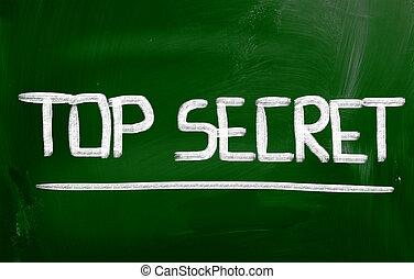 Top Secret Concept
