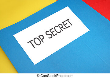 top secret file folder