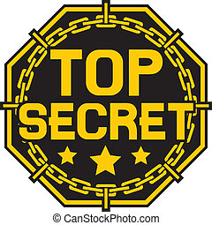top secret stamp, top secret sign
