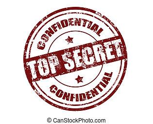 top secret stamp