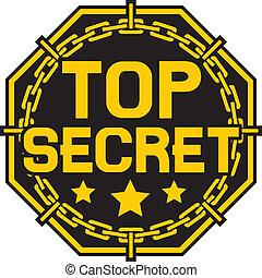 top secret stamp, top secret sign