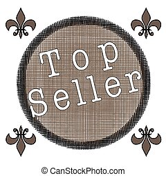 top seller stamp
