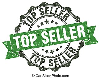 top seller stamp. sign. seal