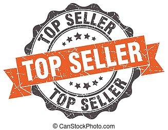 top seller stamp. sign. seal
