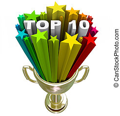 Top Ten Ranking List Showing Best Choices and Quality - A...