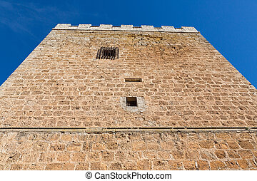 Top view Fort Castillo